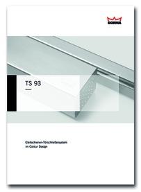 Türschliesser-Dokumentationen DORMA TS 93 Contur Design