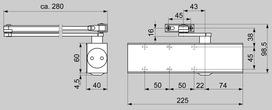 Ferme-porte DORMA TS 73 V