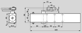 Ferme-porte DORMA TS 73 EMF