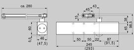 Ferme-porte DORMA TS 83