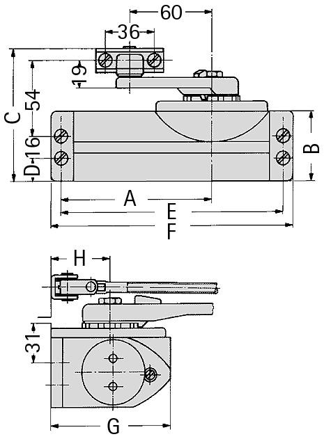 Chiudiporta DORMA TS 59