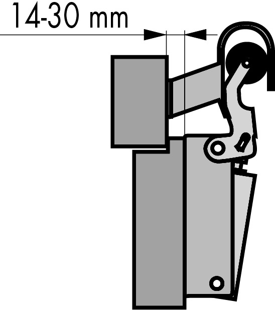 Ferme-porte universel DICTATOR H 1300