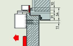 Placche di montaggio 30 mm per guide di scorrimento G-N XEA