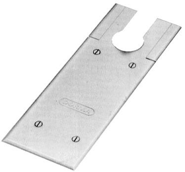 Plaque de recouvrement pour DORMA BTS 75V / 80
