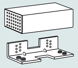 Unità di montaggio per porte con battuta a filo DORMA TV-Z 1xx