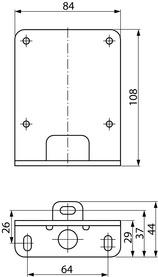 Boden-Montagewinkel DORMA