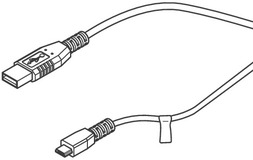 Câble USB eff-eff ePED 1386