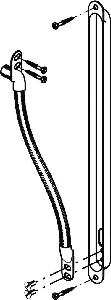 Trasmissioni cavi per porte dormakaba Kü