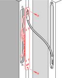 Kabelübergangssteckverbindung dormakaba LK-12