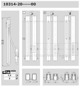 Passage de câble invisible EFF-EFF 10314
