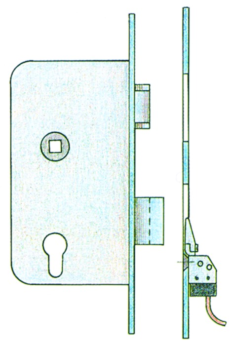 Riegelschaltkontakte Modell 878