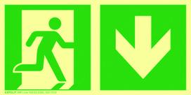 Langnachleuchtende Rettungsschilder EXPOLIT IMP-LINE