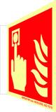 Plaques de protection contre l'incendie à longue photoluminescence