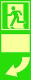 Simboli per porte fosforescenti a lunga durata