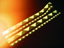 Bandeaux de marquage de porte à longue photoluminescence