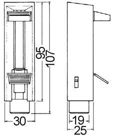 Türfeststeller DORMA 350/B