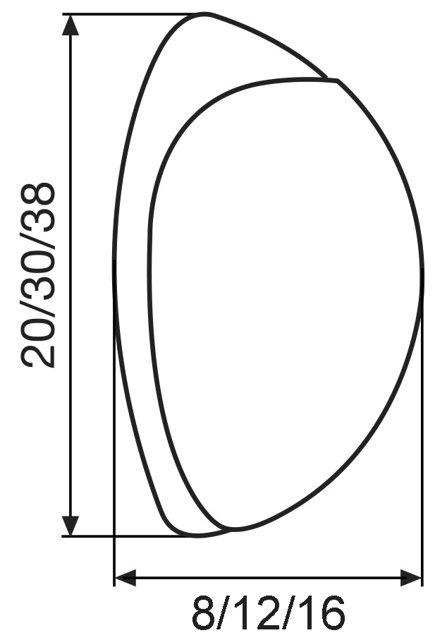 Ripulsori per porte SCREW OR GLUE WALL EH WAGNER