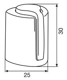 Butoirs de porte STEEL EH 5149 WAGNER