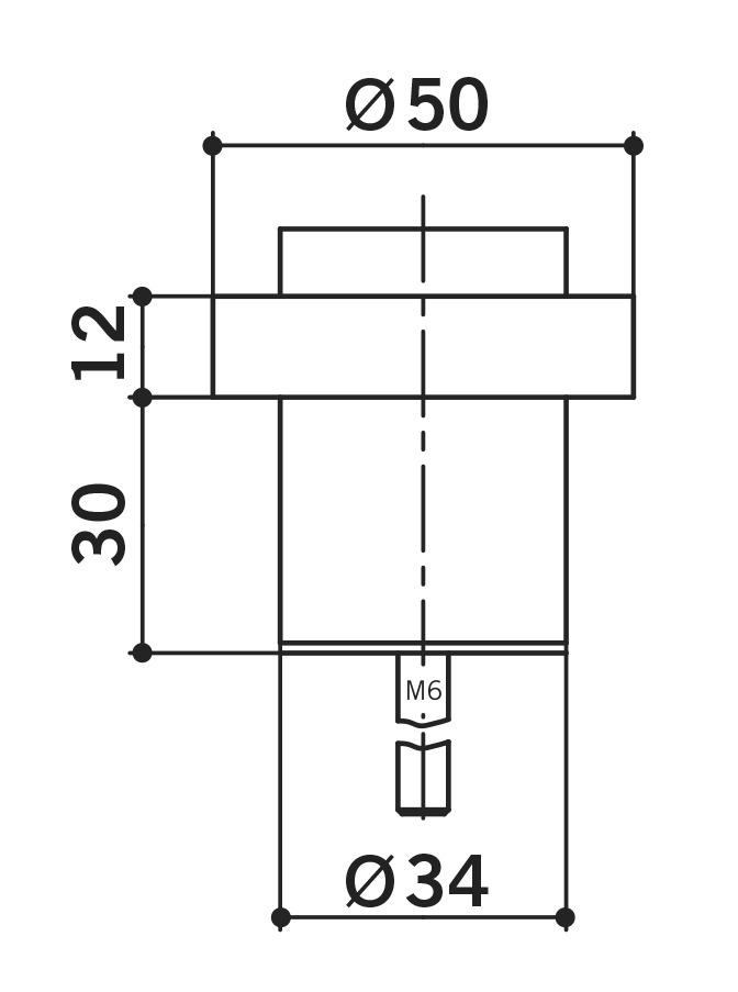 Bodentürpuffer OGRO TZ 5021
