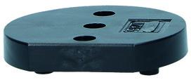 Placche distanziatrici per ripulsori per porte OGRO TZ 5000