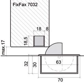Butoirs de porte FixFax 7032