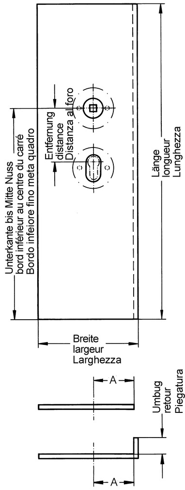 Tür- und Sockelschoner HEWI