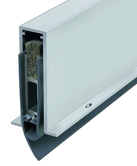 Seuil automatique PLANET GH silicone, sur mesure Art-No 27200 L