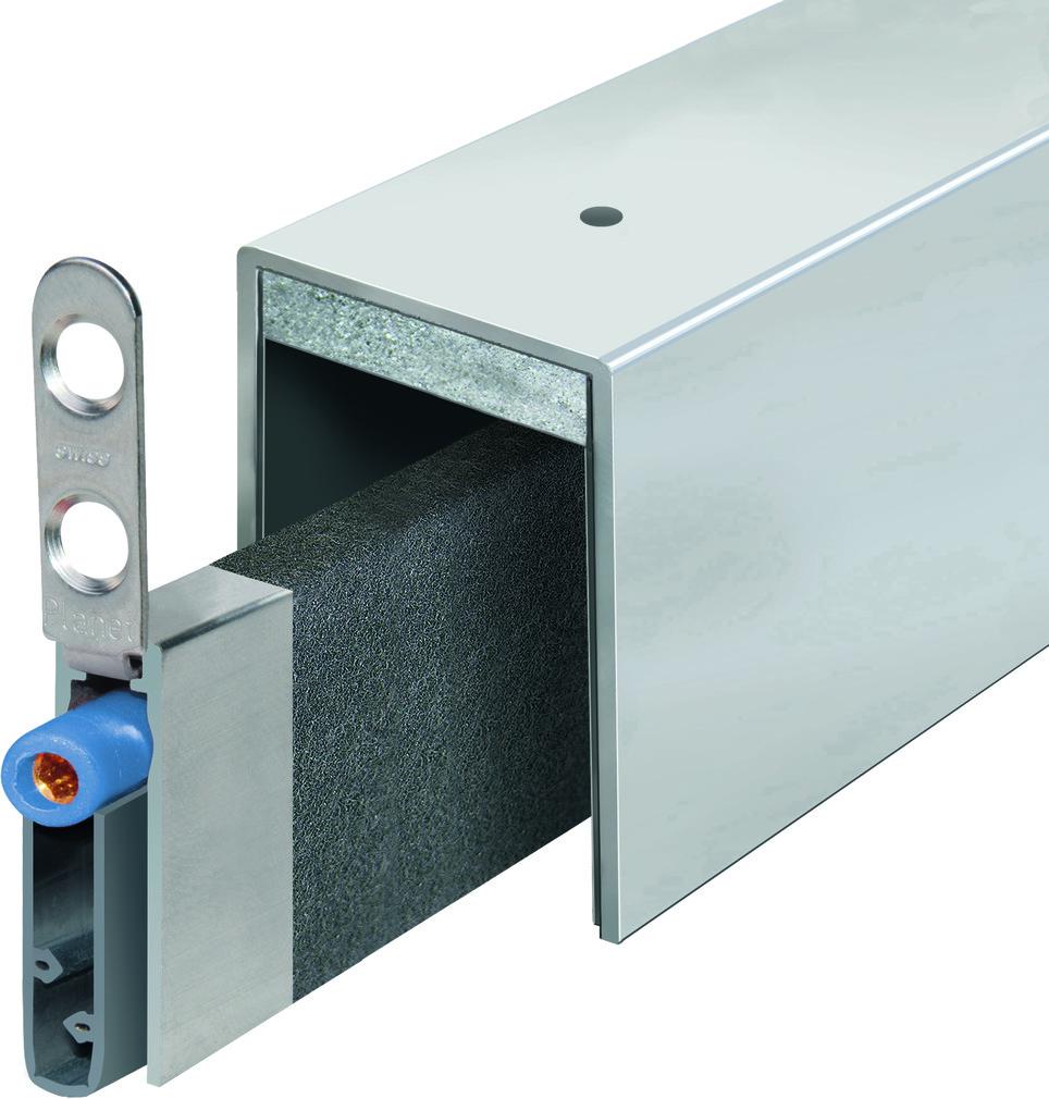 Türabsenkdichtungen PLANET MinE-F/V (Falz/Ventilation)