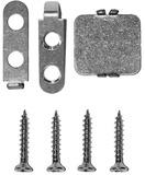 Kit de montaggio PLANET TW/UK per porte in legno