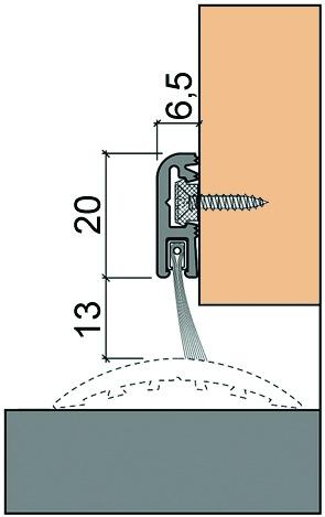 Joints à brosse HEBGO 755/756