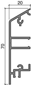 Türsockel HEBGO 157