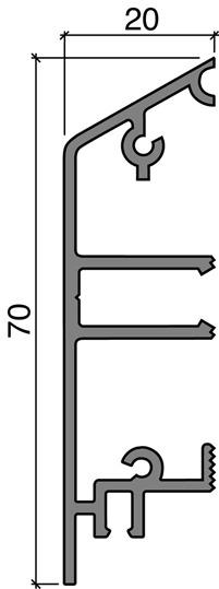 Socles pour porte HEBGO 157