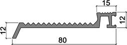 Profili a soglia HEBGO 167