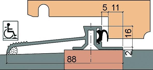 Profils de seuil HEBGO 160