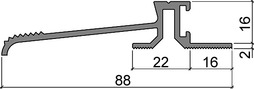 Profili a soglia HEBGO 160