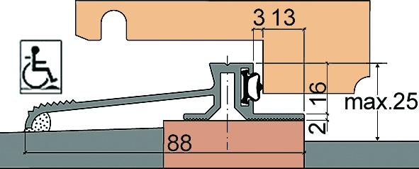 Profils d'étanchéité creux HEBGO 520