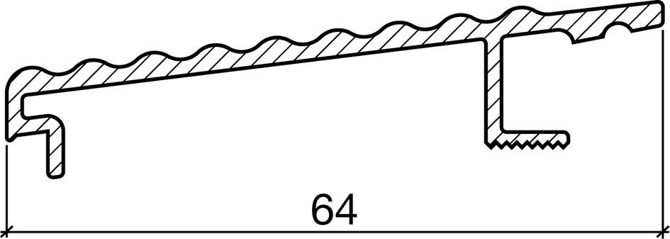 Profils à enfiler HEBGO 164.W
