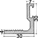 Profilo angolare per soglie HEBGO 170
