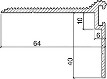 Profili a soglia HEBGO 175