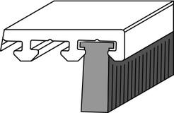Bürstendichtung ROTO Eifel T/TB 10mm, PB 48