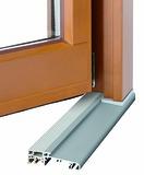 Soglia da pavimento integrata GU con separazione termica