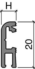 Halteprofile HEBGO 124/126