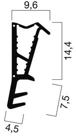 Haustür-Dichtungsprofile GOLL SF 1037