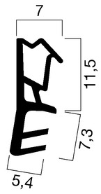 Profils d'étanchéité GOLL A 1020