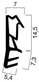 Profils d'étanchéité GOLL A 1021