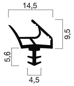 Profils d'étanchéité GOLL S 1034