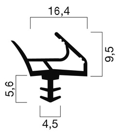 Profils d'étanchéité GOLL S 1035
