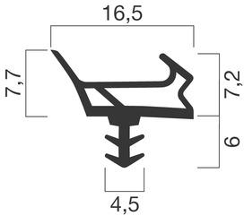 Profils d'étanchéité GOLL A 1023