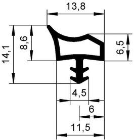 Dichtungsprofile DEVENTER S 3967