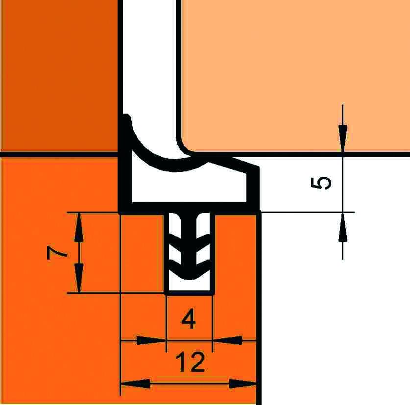 Profils d'étanchéité DEVENTER S 3967